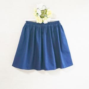 【ソーイング】ギャザースカート