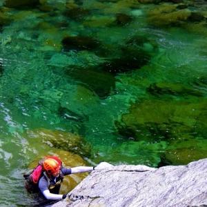 黒部源流 赤木沢 北アで一番美しい渓