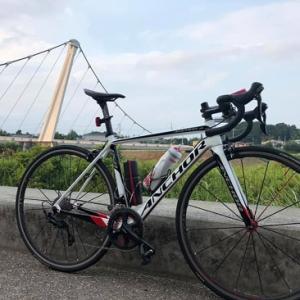 夕涼みの境川サイクリングロードライド。。。。