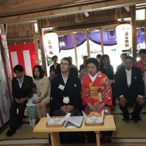 平成最後の日・婚儀式