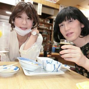 敬子さんと昼から梯子酒