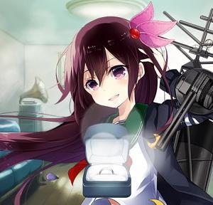 [艦これ]駆逐艦如月ケッコンカッコカリ到達です #艦これ