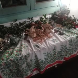 店内もクリスマス雰囲気(^^♪