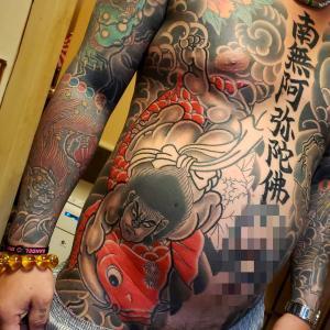 鯉太郎、xさん、鳳凰、一匹昇り龍、愛車