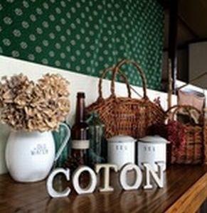 雑貨『coton,』さんに出店‼