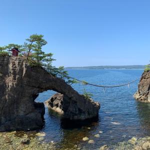 能登旅行①海辺の奇岩たち