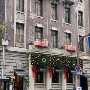 素敵なクリスマスの外観@五感・北浜本店