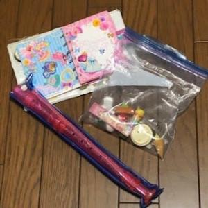 11/28 シールブックと縦笛と小物おもちゃ 厚みのあるシールがいっぱい!