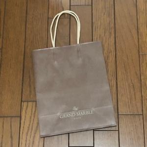 9/20 京都GRAND MARBLEのショップバッグ とにかく美味しい!