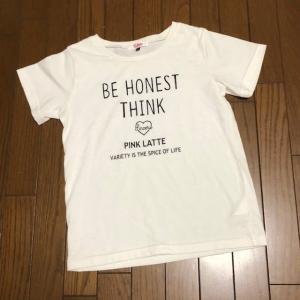 10/26 ムスメっちのTシャツ もう消耗品状態。