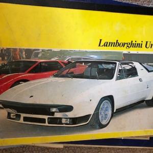 7/29 スーパーカーのノート これはランボルギーニウラッコ、で山田隆夫さんと言えば…