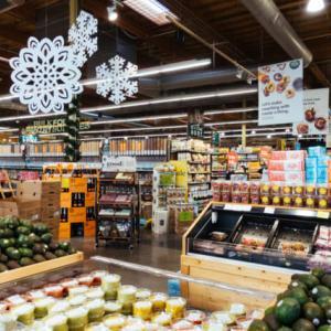 未来のスーパーマーケットで