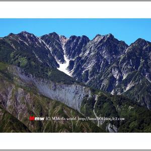 初秋の唐松岳