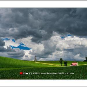 光りと彩りの丘風景Ⅲ  VOL.26
