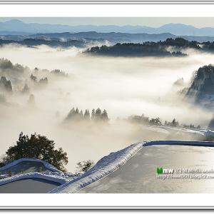雲海の山里