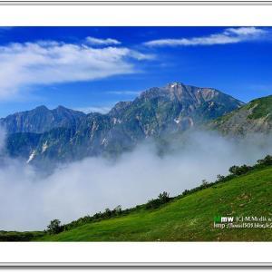盛夏の五竜岳