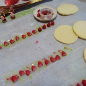 1/6 ドールハウス ホワイトクリスマス制作中~1/6scale クリスマスケーキを作る!