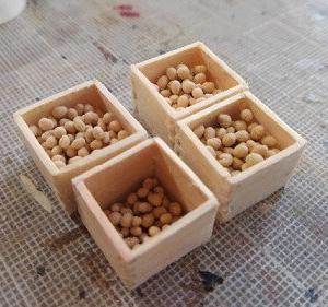 仕事始めだぜ! 恵方巻の米ちねりと豆ちネリ、ちねり作業が飽きたら簀巻きを結う。