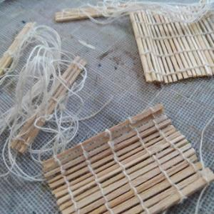 ミニチュア 福豆と簀巻きのベースが出来た(嬉)Minneさんの商品発送!~具材作り