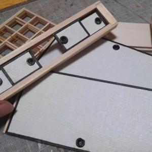 ドールハウス ミニチュア お月見 制作中~畳を作る!~やっと材料が届いた(嬉)
