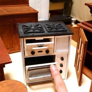 久し振りの1/6scale ドールハウス ハロウィンのキッチン制作中!~オーブンを作る!