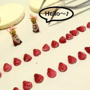1/6scale ドールハウス ハロウィンのキッチン制作中~オーダーのクリスマスケーキ~2Way