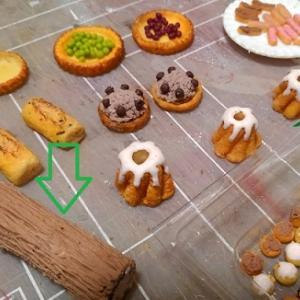 ドールハウス ミニチュア クリスマスのパティスリー制作中~まだまだケーキ作りに奮闘中!