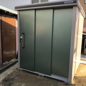 倉庫設置工事完了