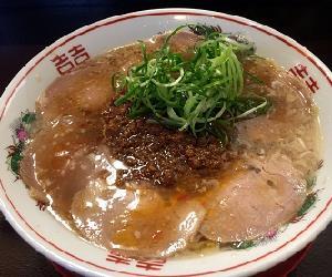 肉味噌チャーシュー麺 900円