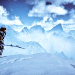 【HorizonZeroDawn】写真保管場所『雪山』