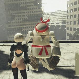【ニーアオートマタ】番外「ロボ道場!ロボ導師!ロボ師匠!」