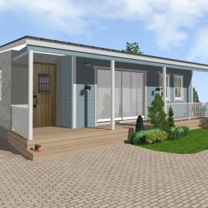 1500万円から建てる「無垢材ひらやの家」