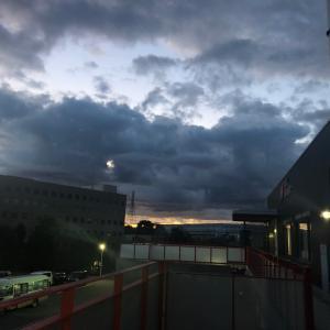 省庁の…不気味な雲