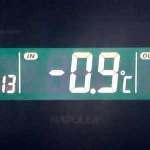 ❄️氷点下の寒さです!!