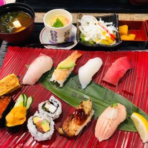 ちょっと高級回転寿司へ〜長次郎〜
