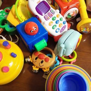 教室で皆に使ってもらう玩具は使用後除菌しています♪