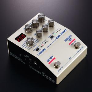 {新製品}BOSS社がディレイペダルエフェクターのDD-200をリリース。