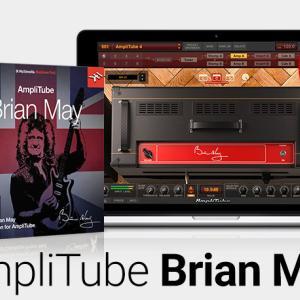 {新製品}IK社がアンプシュミレーターのAmpliTube Brian Mayをリリース。