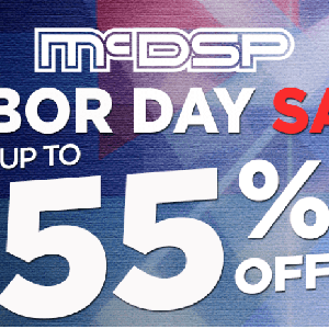 {セール}McDSP社がLABOR DAYセールを開催中!最大55%オフ!