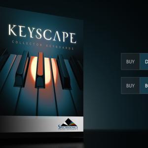 {セール}Spectrasonics社のKeyscapeが期間限定セール中。