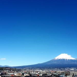彼岸の富士山