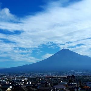 久しぶりの全景富士山