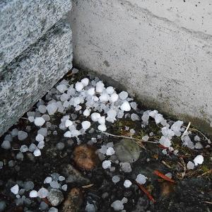 群馬県高山村 変な天気です