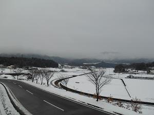 群馬県高山村 またまたまた雪が降りました