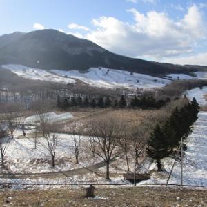 群馬県高山村 今シーズンの雪