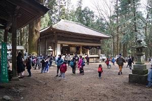 中山神社 祭礼