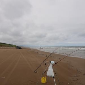 能登キス釣り2日目。千里浜はもうイヤ!隣の海岸で