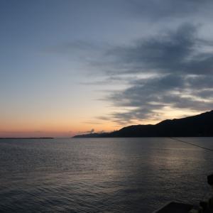 能登・輪島で初めての釣り。釣り場偵察♪