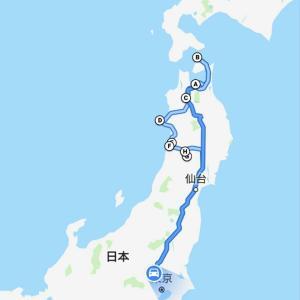 6泊7日青森&秋田釣り旅の軌跡