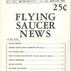 Flying Saucer News, NewYork